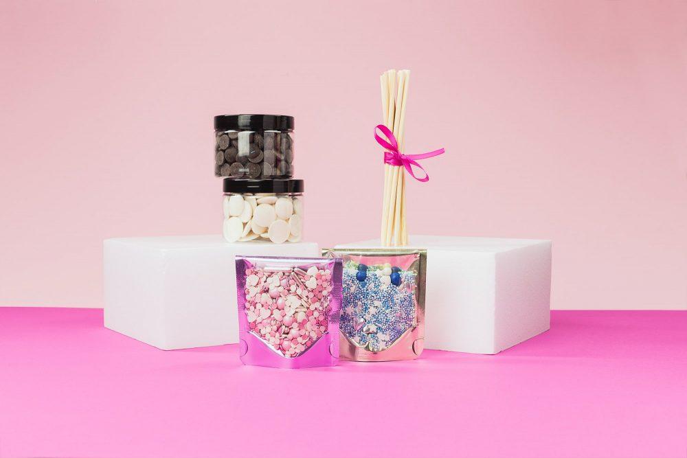 Lieblingsstreusel Cake Pops Baking Box zum selber Backen - inklusive Zuckerstreusel
